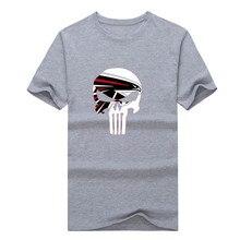 2017 Quality printing Matt Ryan Atlanta skull T-Shirt 100% cotton Falcon T Shirts Men Wear 0115-3