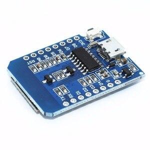 Image 5 - 100pcs D1 mini  Mini NodeMcu 4M bytes Lua WIFI Internet of Things development board based ESP8266