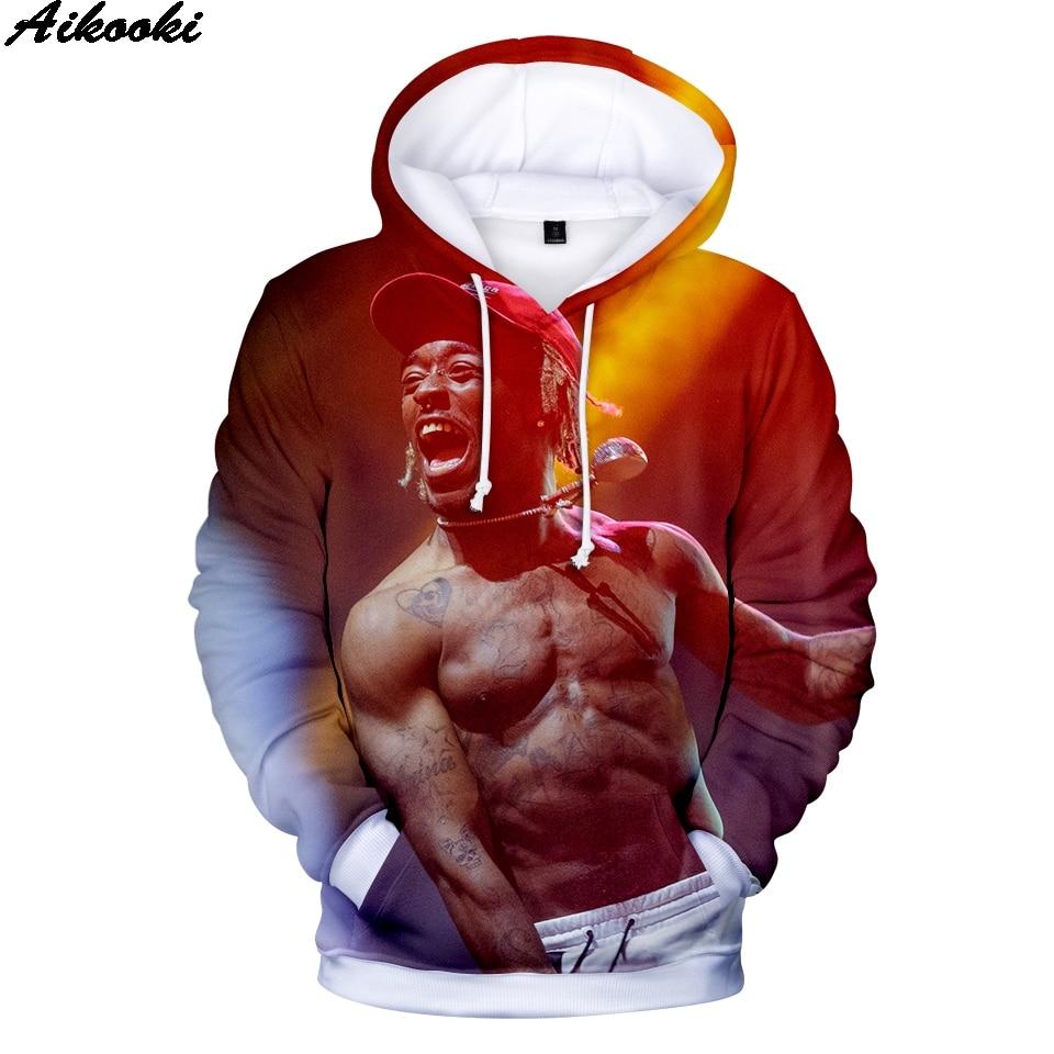 Hip Hop Lil Uzi Vert Hoodies 3d Sweatshirts Men/women 3d Hoodies Rapper Lil Uzl Vert Hoodies Men Plus Size Xxs-4xl Men's Clothing