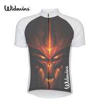 Devil Men USA Team Cycling Jersey Outdoor Devil Short Sleeve Mtb Jersey Top Shirts Ropa Ciclismo