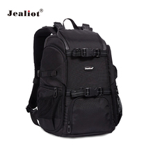 Jealiot Waterproof Photography camera backpack Bag Outdoor Wear-resistant Large Camera Photo Backpack Men for Nikon Canon Sony