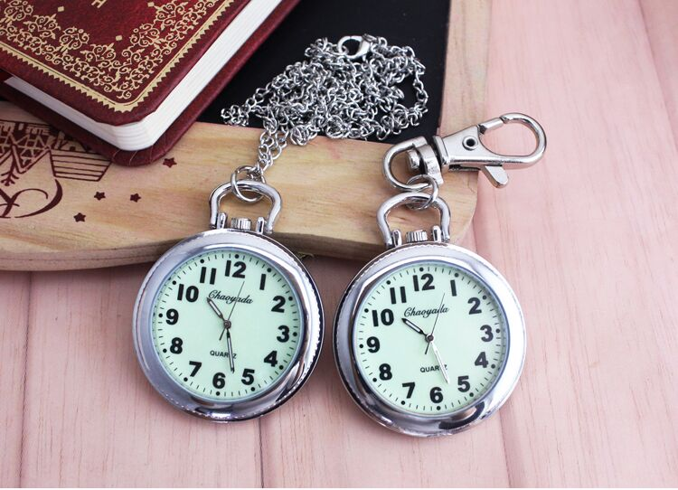 New Fashion Clip Nurse Doctor luminous Pendant Pocket Watches Quartz Red Cross Brooch Nurses Watch Fob Hanging Medical Watch laipute brand new keychain nurse watches fob doctor quartz hanging pocket watch relog luminous hands zakhorloge montre