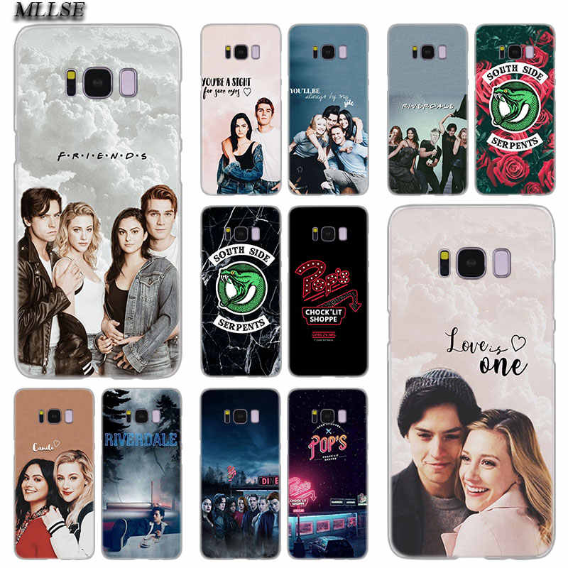 MLLSE Riverdale South Side Serpents Transparent Case Cover for Samsung Galaxy S10 Lite S9 S8 Plus S7 S6 Edge S5 S4 Mini Cover