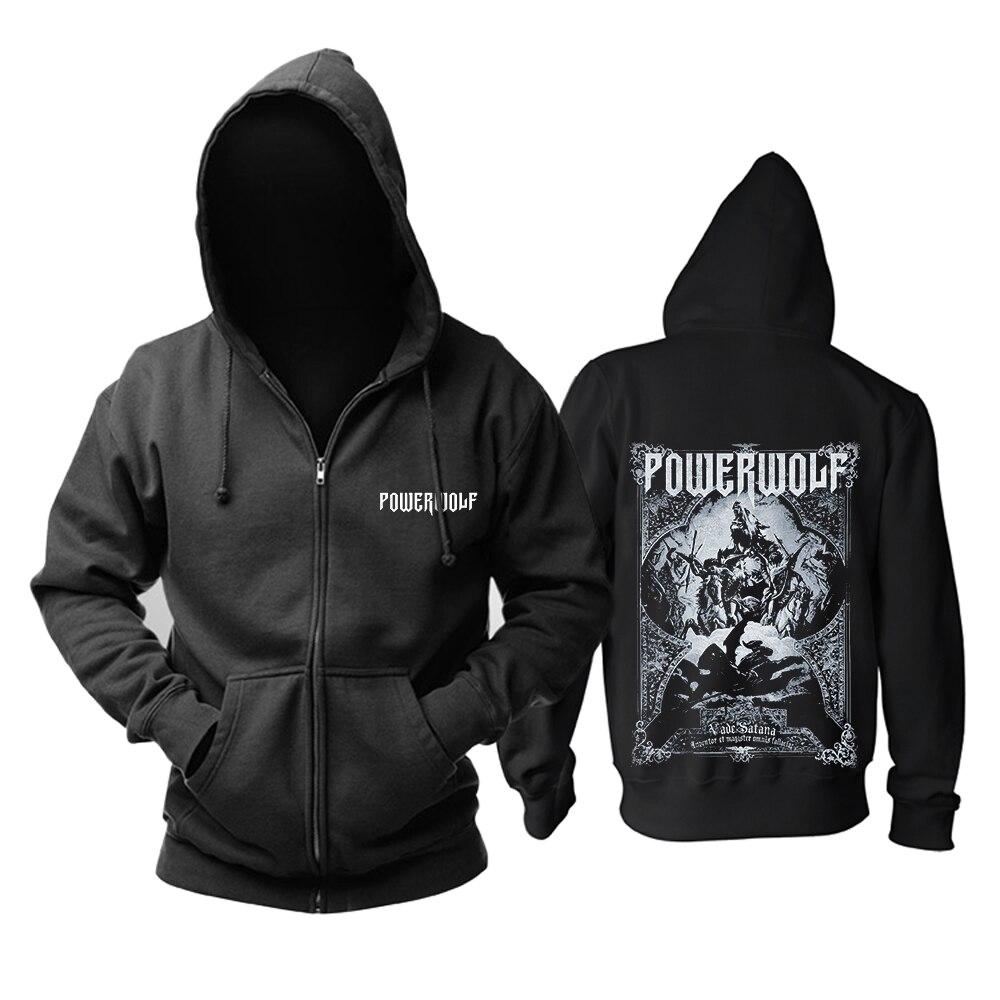 Bloodhoof Freies verschiffen Powerwolf death metal gedenk Hoodie Asiatische Größe-in Hoodies & Sweatshirts aus Herrenbekleidung bei  Gruppe 2