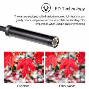 Image 4 - 1/1. 5/2 m 5.5mm Len USB OTG Snake Android Endoscoop Camera IP67 Waterdichte 6 LEDs Inspectie pijp Camera Borescope Voor Telefoon PC