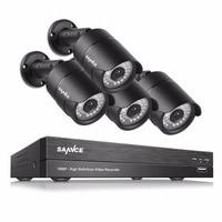 SANNCE 4PCS 1080P CCTV Camera 2 0MP CCTV Security Camera IR Indoor Outdoor IP66 CCTV Surveillance