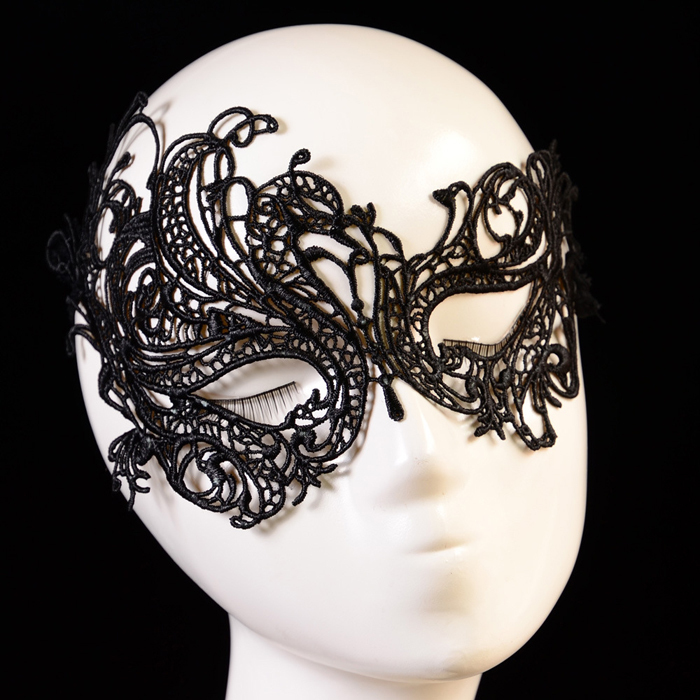 Favourite Halloween Fashion Sexy Lace Eye Mask & Masquerade Ball Halloween Party Fancy Costume deguisement sexy smile