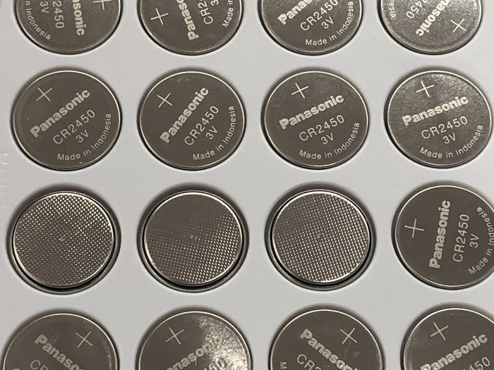 10PCS/LOT New Original Panasonic CR2450 <font><b>CR</b></font> <font><b>2450</b></font> <font><b>3V</b></font> Lithium Button Cell Battery Coin Batteries For Watches,clocks,hearing aids image