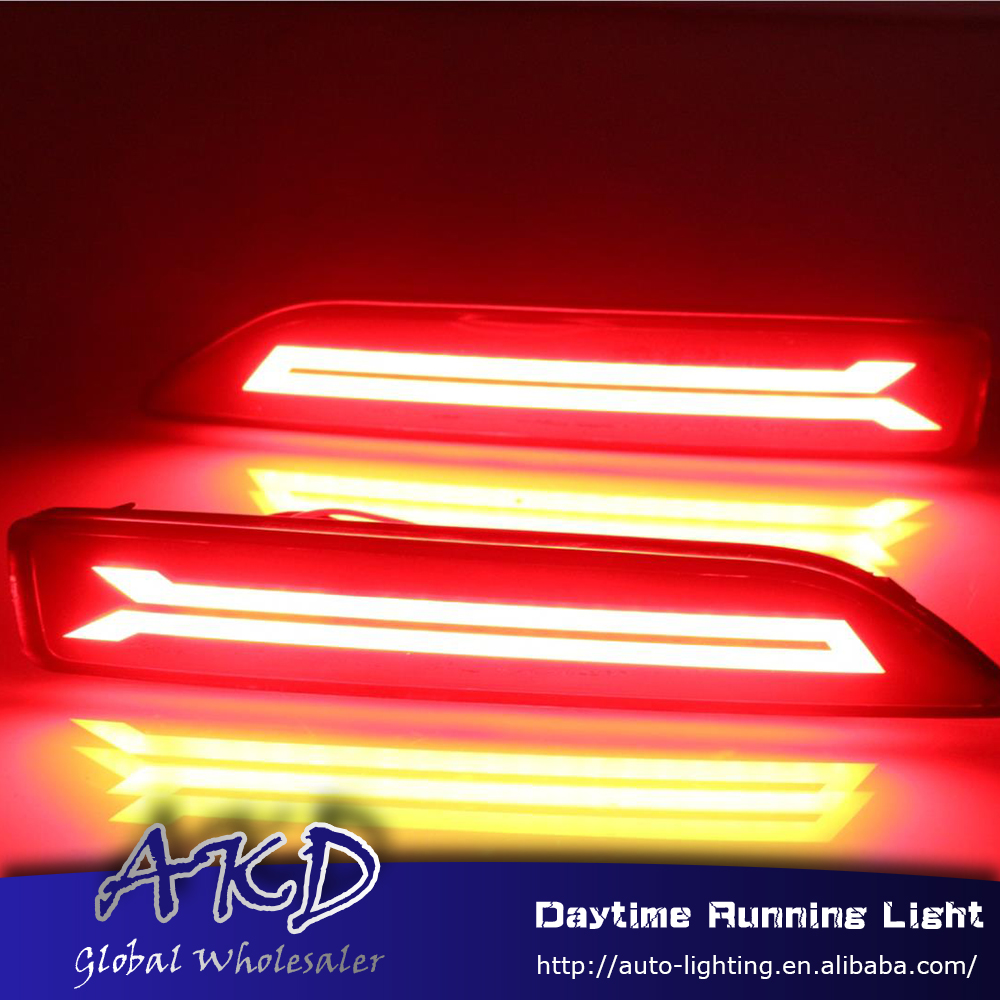 Reflector BR-V MOBILIO Brake-Lamp Rear-Bumper-Light Honda for DRL Car-Styling New