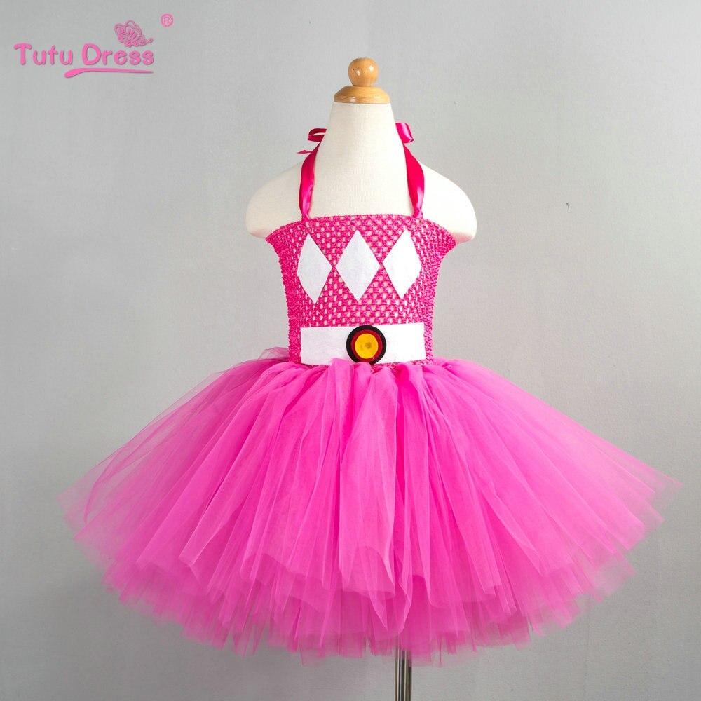 Cute Cartoon Girl Dress Lovely Cosplay Tutu Dress Halloween Costume Kids Tutu Dress