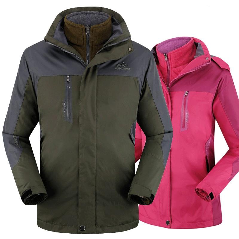 Winter Herren Softshell Wasserdichte Jacken Snowboard Jacken Mantel - Herrenbekleidung