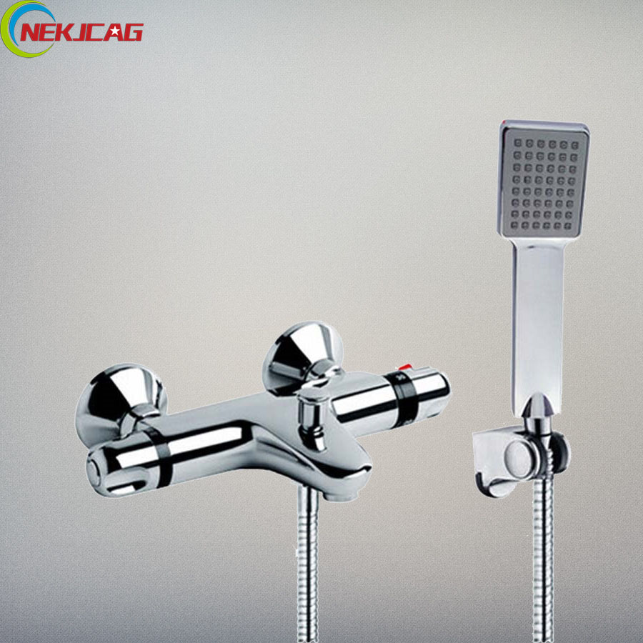Bathroom Shower Set Rainfall Head Shower + Waterfall Spout Tub Sink Faucet + Handheld Shower Hand + Stainless Steel Hose цена 2017