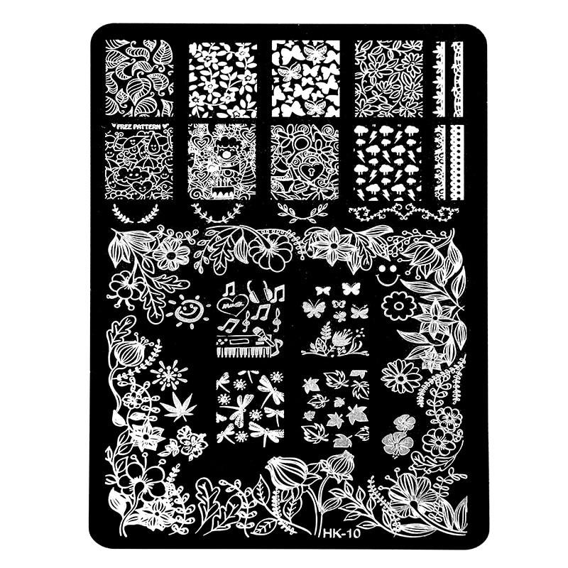 Aliexpress.com : Buy New HK Pretty Nail Art Stamping