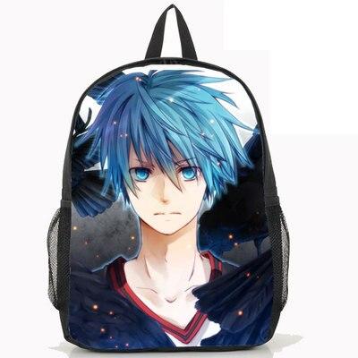 Fashion Kurokos Basket ball Backpack Anime Kuroko no Basuke Kuroko Tetsuya Nylon Laptop School Bag