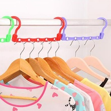 360 Degree Five Hole Adjustment Wind-Proof Magic Clothes Hanger Home Coat Storage RackMulti-function Holder Clothes Organizer