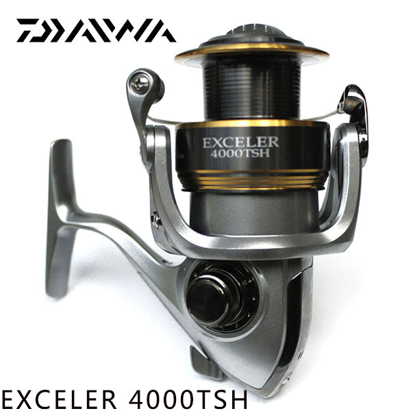 ff500cf7d70 100% Original DAIWA Brand EXCELER 4000TSH Fishing Spinning Reel 4+1bb two  Spool 6.2:1 daiwa Fishing Gear for feeder fishing-in Fishing Reels from  Sports ...
