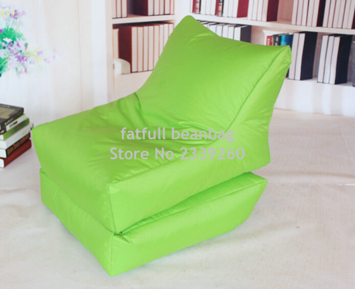 COVER ONLY,no Filler Folding Bean Bag Chair, Outdoor