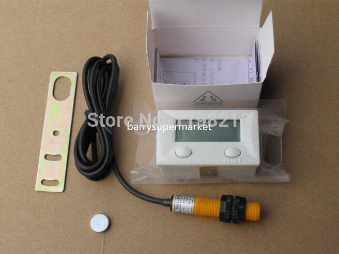 39f76c1c99291 Contador eletrônico Digital soco magnético indução interruptor de  proximidade 5-digital alternativo balcão rotativo