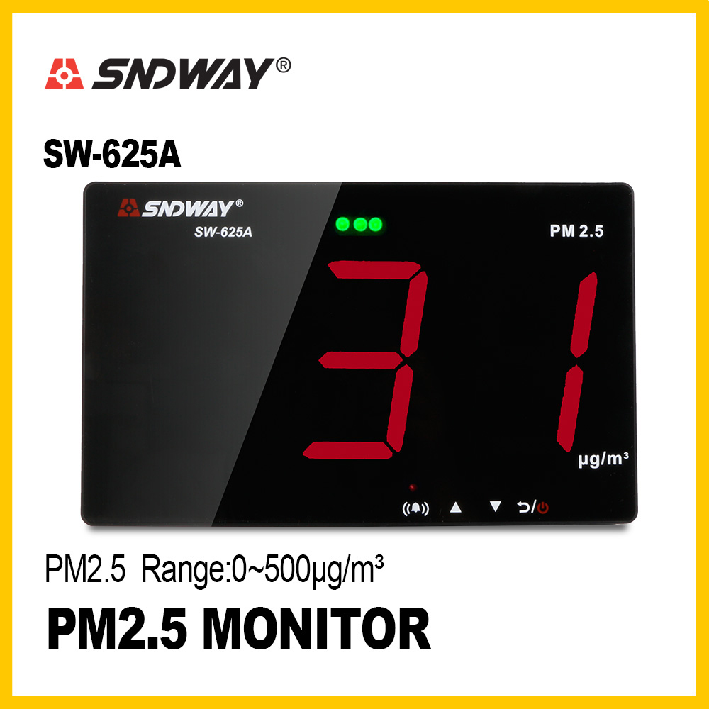 SNDWAY Mini Air Quality Monitor /Gas Detector/Gas analyzer/Diagnostic tool Inovafitness PM2.5 monitor / SW-625ASNDWAY Mini Air Quality Monitor /Gas Detector/Gas analyzer/Diagnostic tool Inovafitness PM2.5 monitor / SW-625A