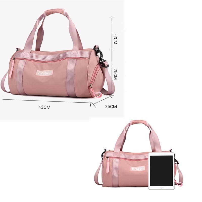 2018 New Hot Sports Bag Training Gym Bag Men Woman Fitness Bags Durable Multifunction Handbag Outdoor Sporting Tote Travel Bag 2
