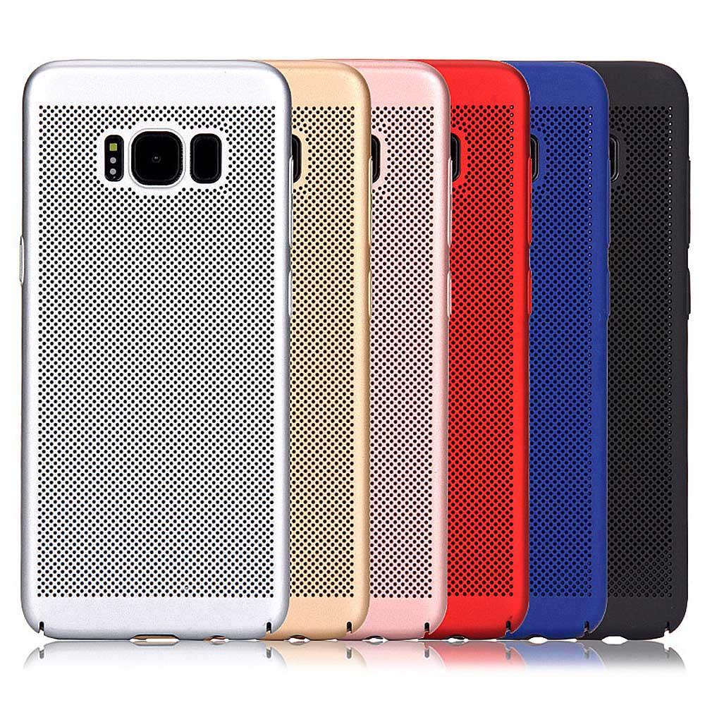 Рассеивание тепла защитный тонкий корпус кожного покрова для samsung Galaxy S8 плюс
