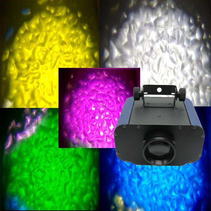 High power 30W/50W LED Water Wave Ripple light Watermark colorful Disco Stage Light Party Pattern Lighting Show Laser Projector title=
