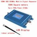 CDMA 850 МГц CDMA800MHz мобильный сигнал повторителя усилитель ЖК-дисплей CDMA980 усилитель сигнала с внешних комнатная антенна