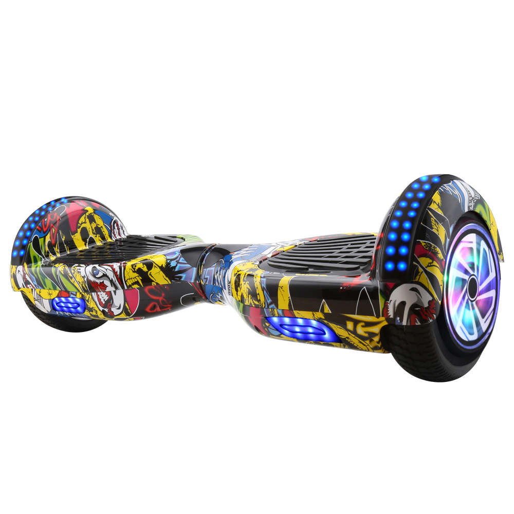 6.5 inch Hoverboard with Illuminated Wheels and Bluetooth 2