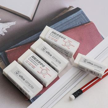 2 szt Art Eraser szkic biały ultra-czysty próbnik samochodowy gumka materiały biurowe miękki ołówek gumowe przybory szkolne dla uczniów tanie i dobre opinie ZiViMi CN (pochodzenie) 96695-96696 RUBBER 6 lat GUMKA DO OŁÓWKA Gumka biurowa rectangle FANTASTIC