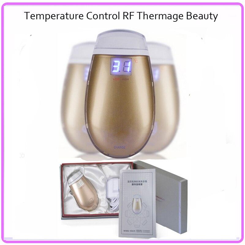 ФОТО Mini Rechargeable RF Radio Frequency Dot Matrix RF Thermage Skin Rejuvenation Vibrating Facial Beauty Massager