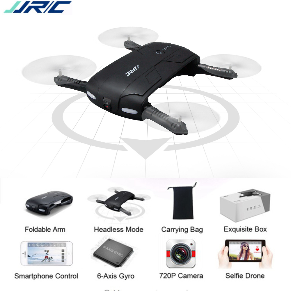 JJRC H37 Mini Drone With 720P Rotating 60°Camera Foldable WiFi Control FPV Helicopter Pocket Portable RC Quadcopter Selfie Drone