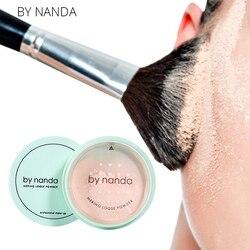 3 цвета, полупрозрачная прессованная пудра с пуховкой, гладкая основа для макияжа лица, водостойкая рассыпчатая пудра