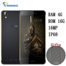 Hisense K1 Rugged Waterproof mobile Phone IP6 FDD LTE Octa Core smartphone 4GB 64GB 16.0MP 3000mAh 5.2 inch IPS HD X1 S30