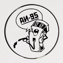 CK2114#10*12cm gas 95# funny car sticker vinyl decal silver/black car auto stickers for car bumper window car decorations ck2519 24 12cm but not on foot car sticker vinyl decal silver black car auto stickers for car bumper window car decorations