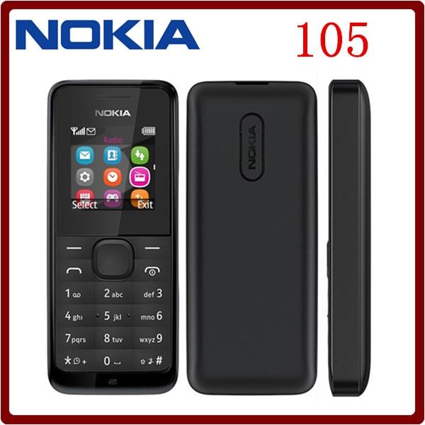 Original Nokia 105 FM Radio Dual SIM Cards Good Quality ...