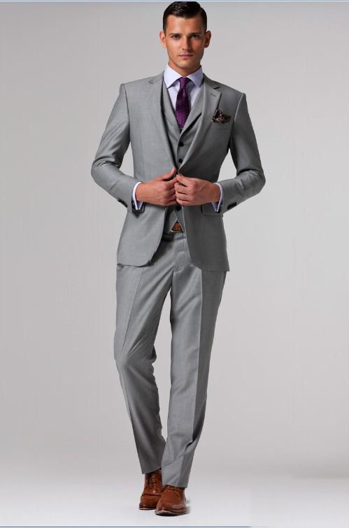 Grey Coat Suit | My Dress Tip
