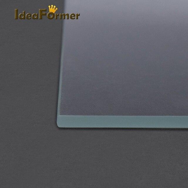 3D Printer Accessories Reprap MK2 Heated Bed Borosilicate Glass Plate tempered 1 pcs 3D Printer parts glass in good quality 4