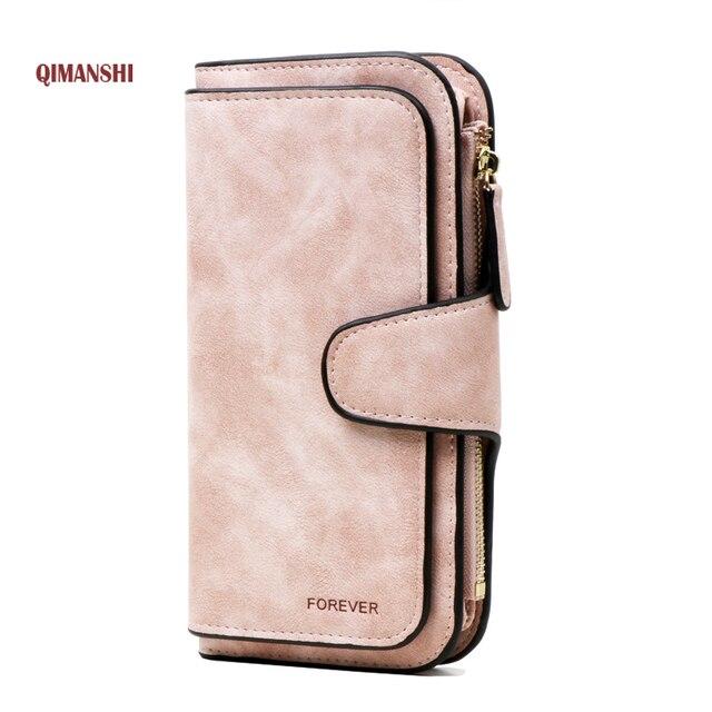 Бумажник бренд Портмоне из искусственной кожи Для женщин бумажник кошелек женский держатель для карт длинные леди сцепления кошелек carteira feminina