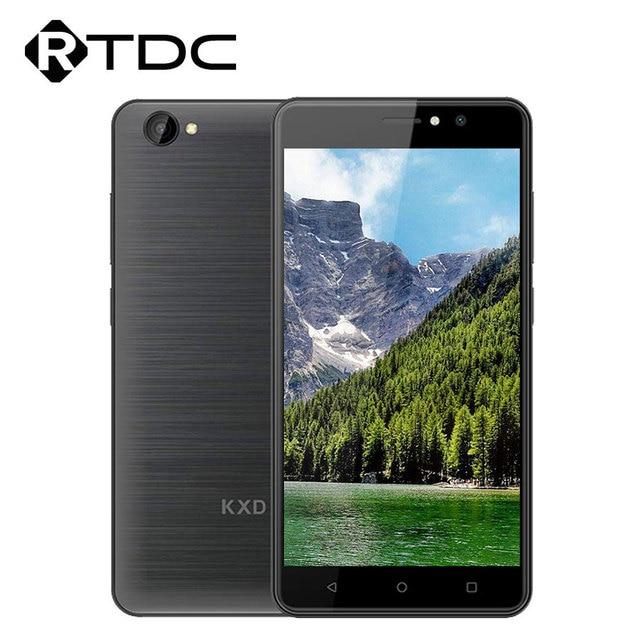 "KXD W55 3G Smartphone 5.5""MT6580A 1GB RAM 8GB ROM Quad Core Andriod6.0 Dual Sim 2500mAh Battery 720*1280pixlels Mobile Phone"