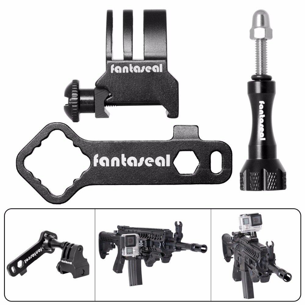 Fantaseal Picatinny Gun Rail Mount Airsoft Gun Shotgun Adapter för - Kamera och foto - Foto 3