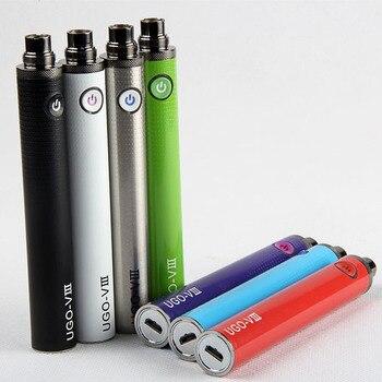 1200 mah UGO VIII batterie vision 2 micro passthrough cigarette électronique batterie ego 510 fil Date UGO batterie