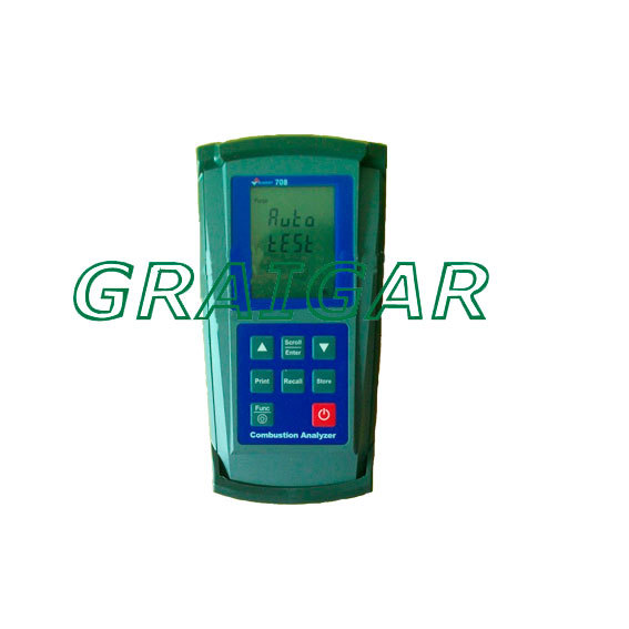 SUMMIT-708,Flue gas analyzer/combustion efficiency analyzer/CO/carbon monoxide detector,free shipping by DHL