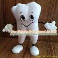 Envío gratis figura diente Squeeze Toy PU Tooth estrés relevista odontología artículos promocionales