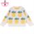 CAMPURE Fashion Girl Piña Piña Ropa de Los Cabritos 2016 Niños de Dibujos Animados de Invierno Suéter Del Suéter Del Otoño Niños Niños Ropa Niños