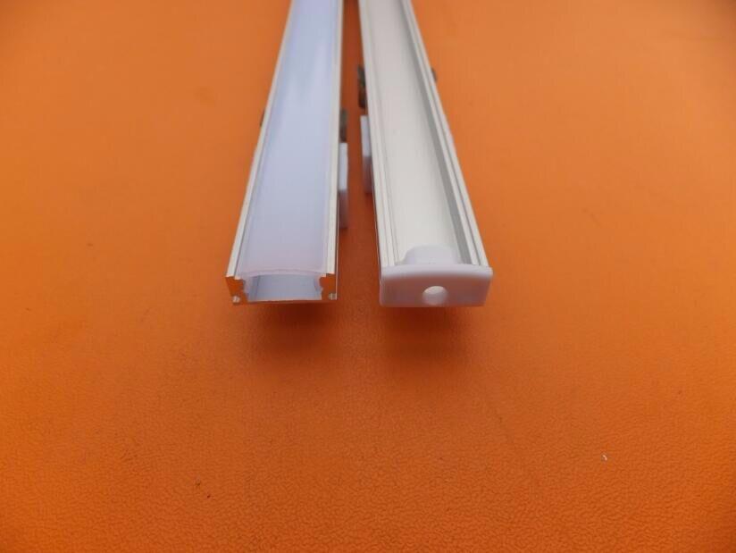 17mm X 7mm canal de alumínio tira