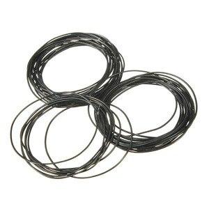 Резиновые уплотнительные кольца, водонепроницаемые Круглые прокладки для часов, 500 шт., 0,8 мм, 31 мм-40 мм