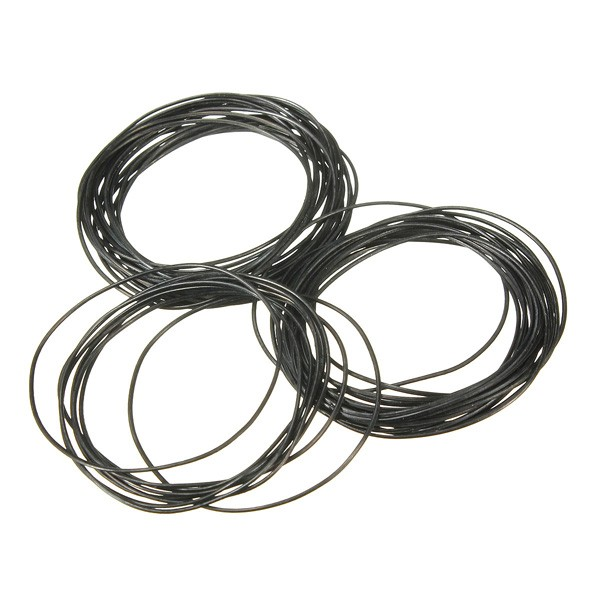 500pcs 0.8mm 31mm 40mm O Ring Rubber Seal Washers Waterproof Round ...