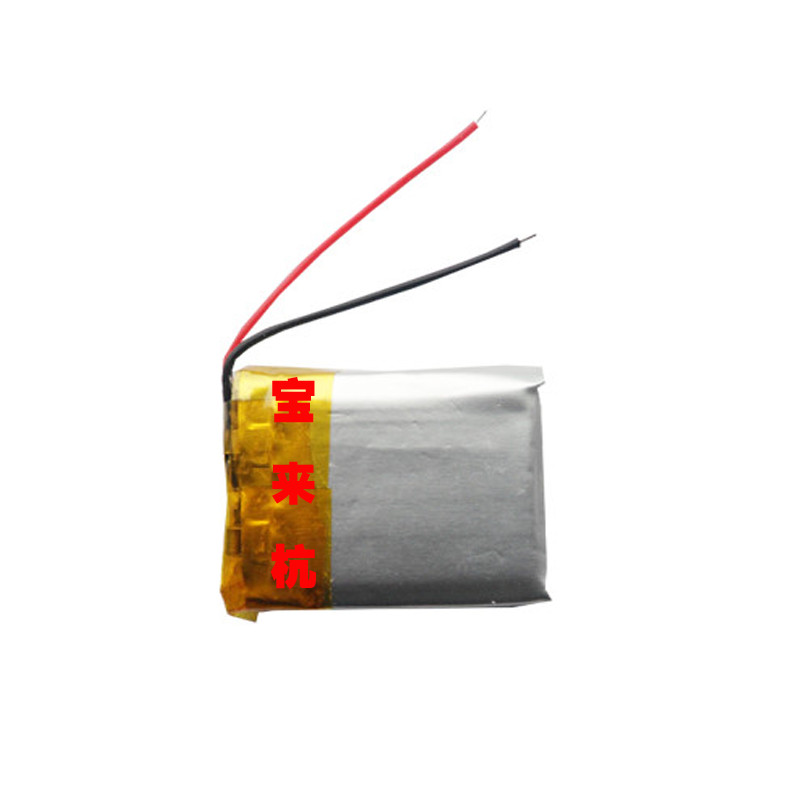 New Hot A 3.7V polymer lithium battery <font><b>302530</b></font> 032530 160mah MP3 MP4 Rechargeable Li-ion Cell image
