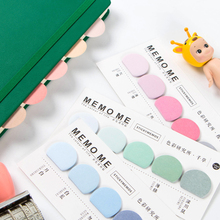Round Shape Various Colorful Self-Adhesive N Times Memo Pad Sticky Notes Bookmark School Office Stationery Supply today s list cartoon n times self adhesive memo pad sticky notes bookmark school office supply