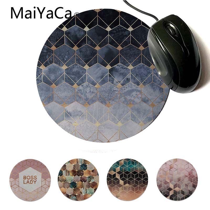 Maiyaca In Stocked Hexagons And Diamonds Beautiful Anime Mouse Mat